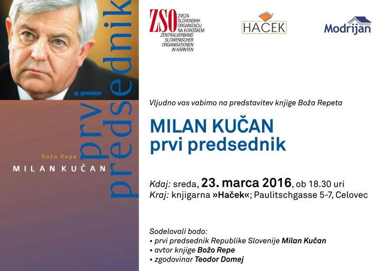 Milan Kučan – prvi predsednik