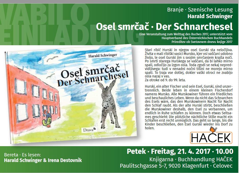 Harald Schwinger : Der Schnarchesel-Osel smrčač