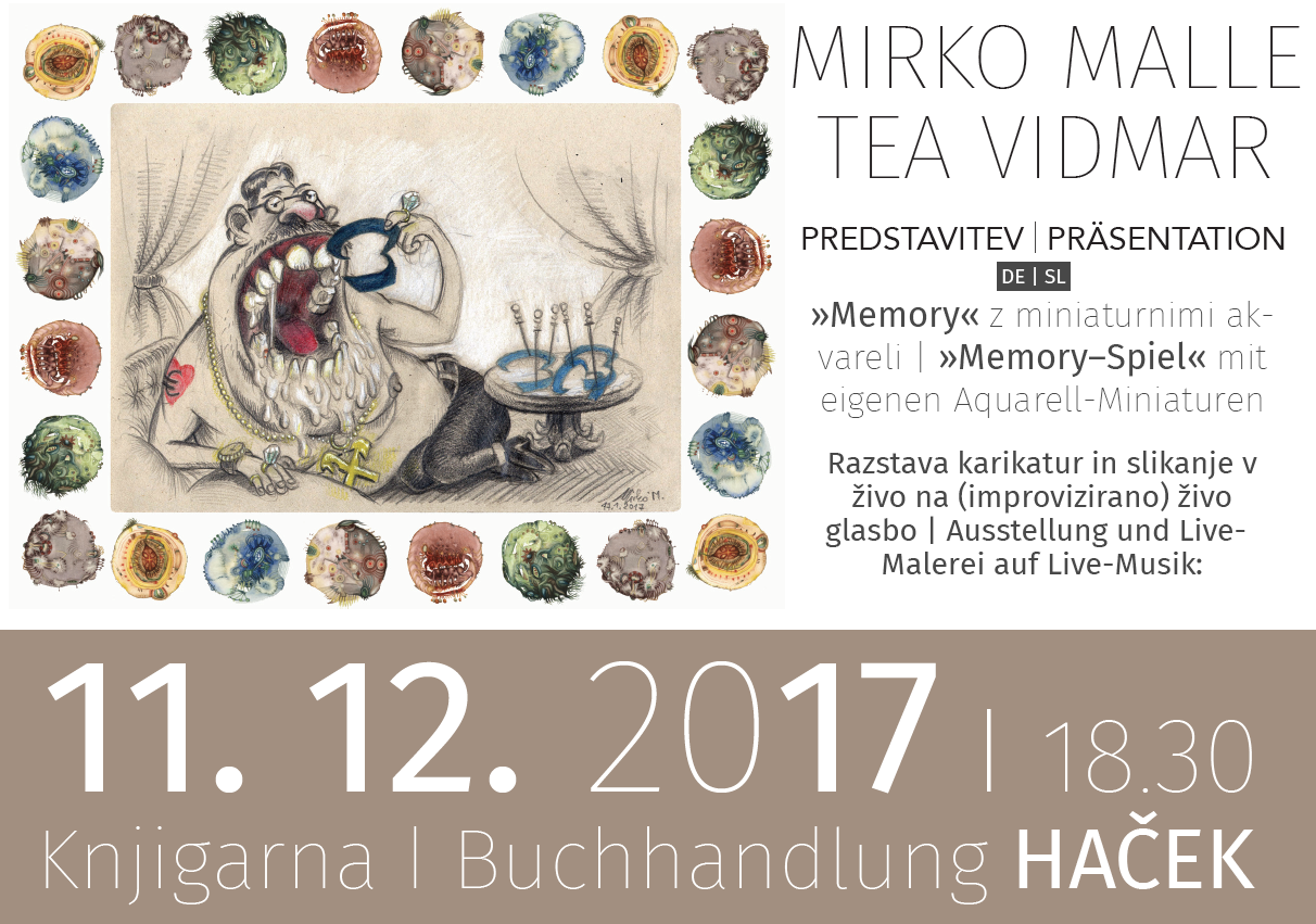 Mirko Malle in Tea Vidmar