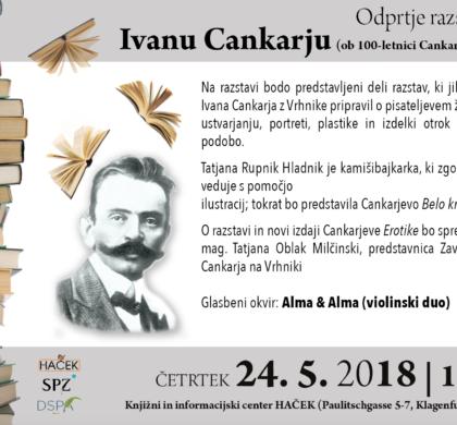 Odprtje razstave o Ivanu Cankarju