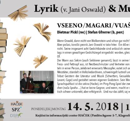 Lyrik (v.Jani Oswald)+Musik