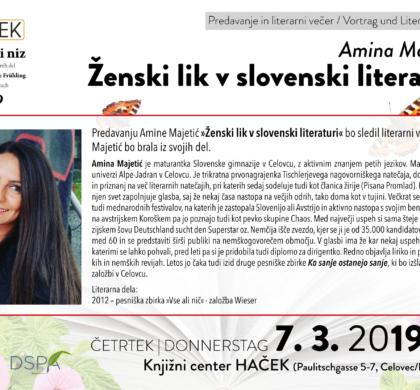 Ženski lik v slovenski literaturi