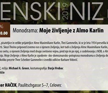 MONO BENE / Mednarodni gledališki festival v knjigarni
