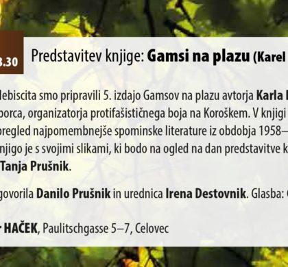 Karel Prušnik – Gašper: Gamsi na plazu (5. dopolnjena izdaja)