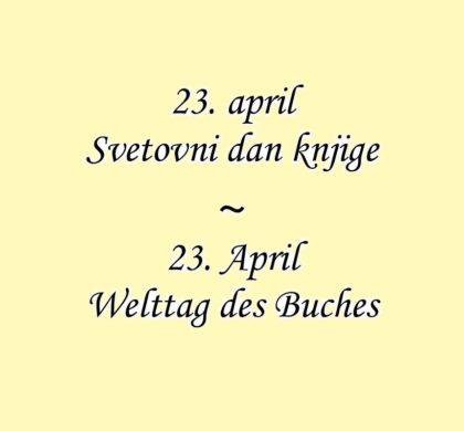 Svetovni dan knjige / Welttag des Buches