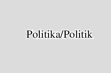 Politika/Politik