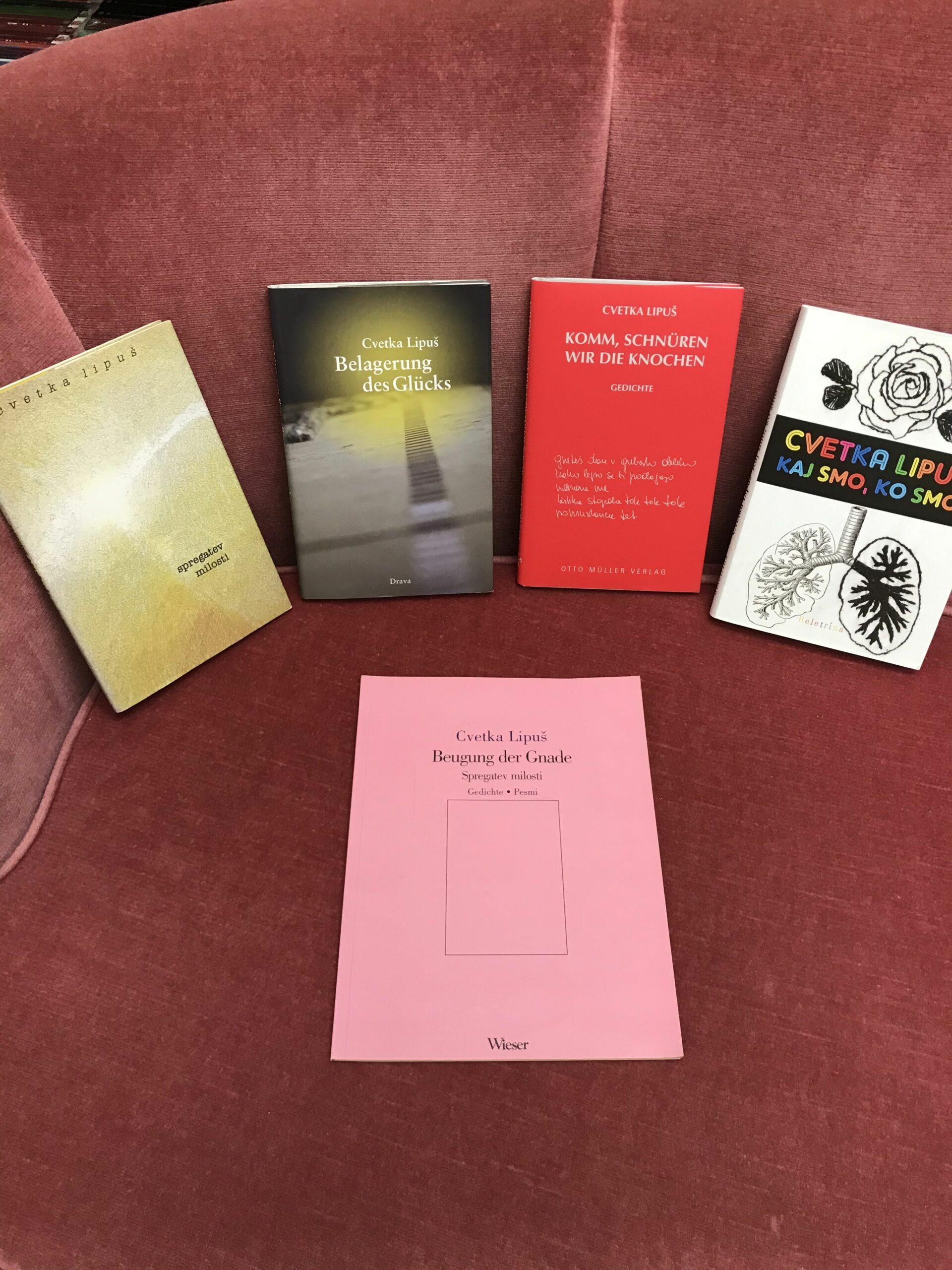 """Cvetka Lipuš je izdala novo knjigo """"Odhajanje za začetnike"""""""