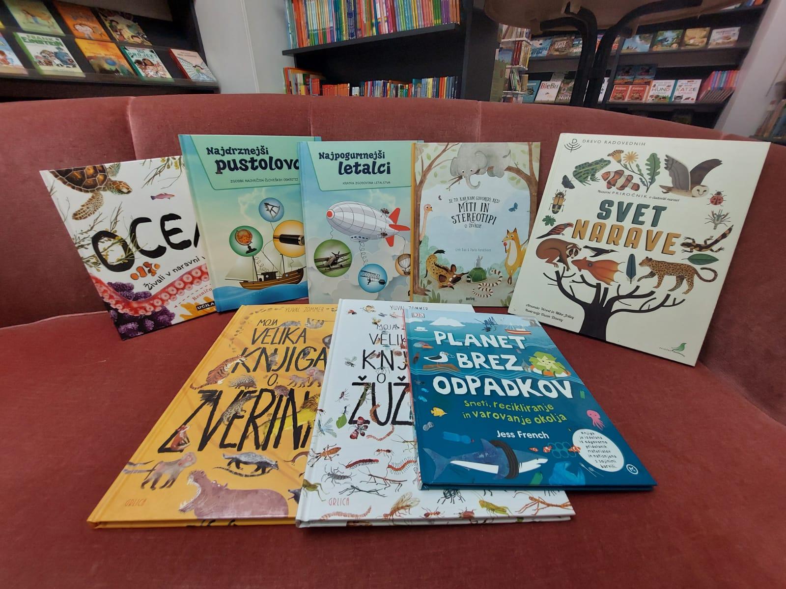 Izbor stvarnih knjig za otroke