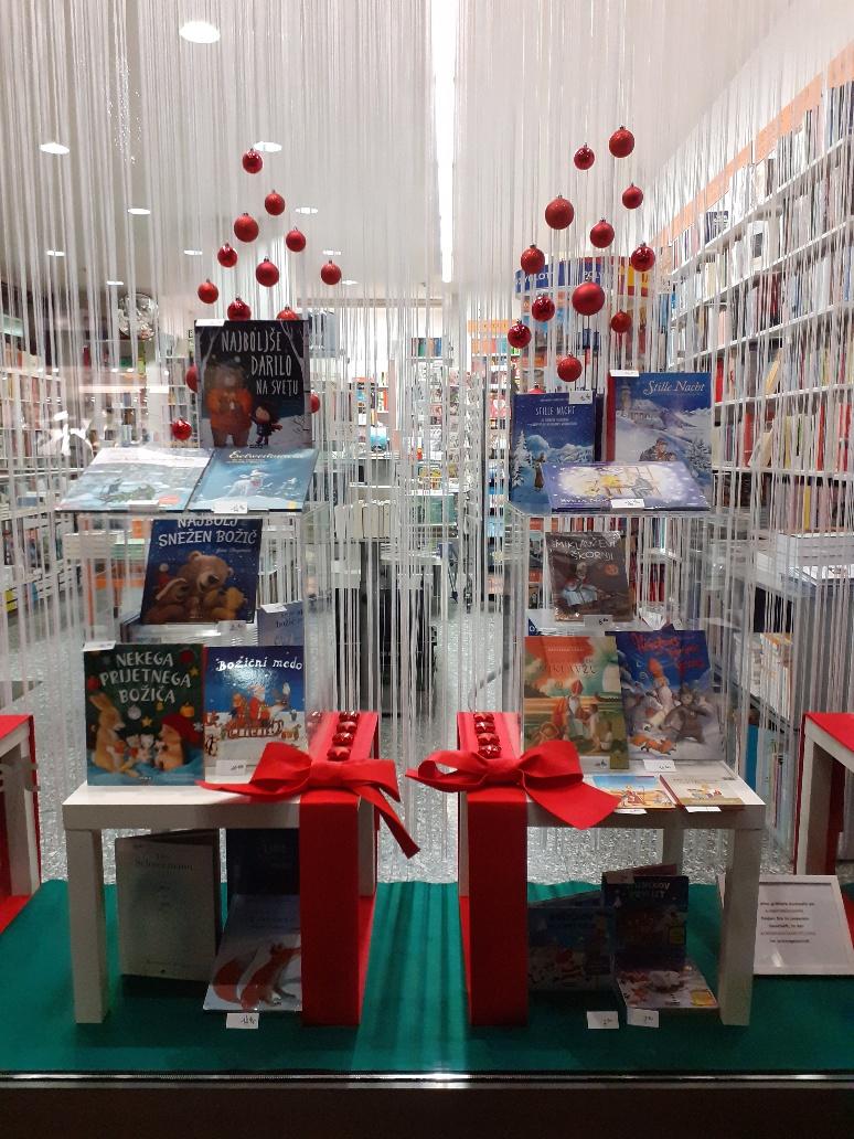 Adventne in božične knjige v knjigarni Haček / Advents- und Weihnachtsbücher in der Buchhandlung Haček erhältlich