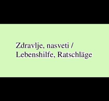 Življenski nasveti / Lebensfragen