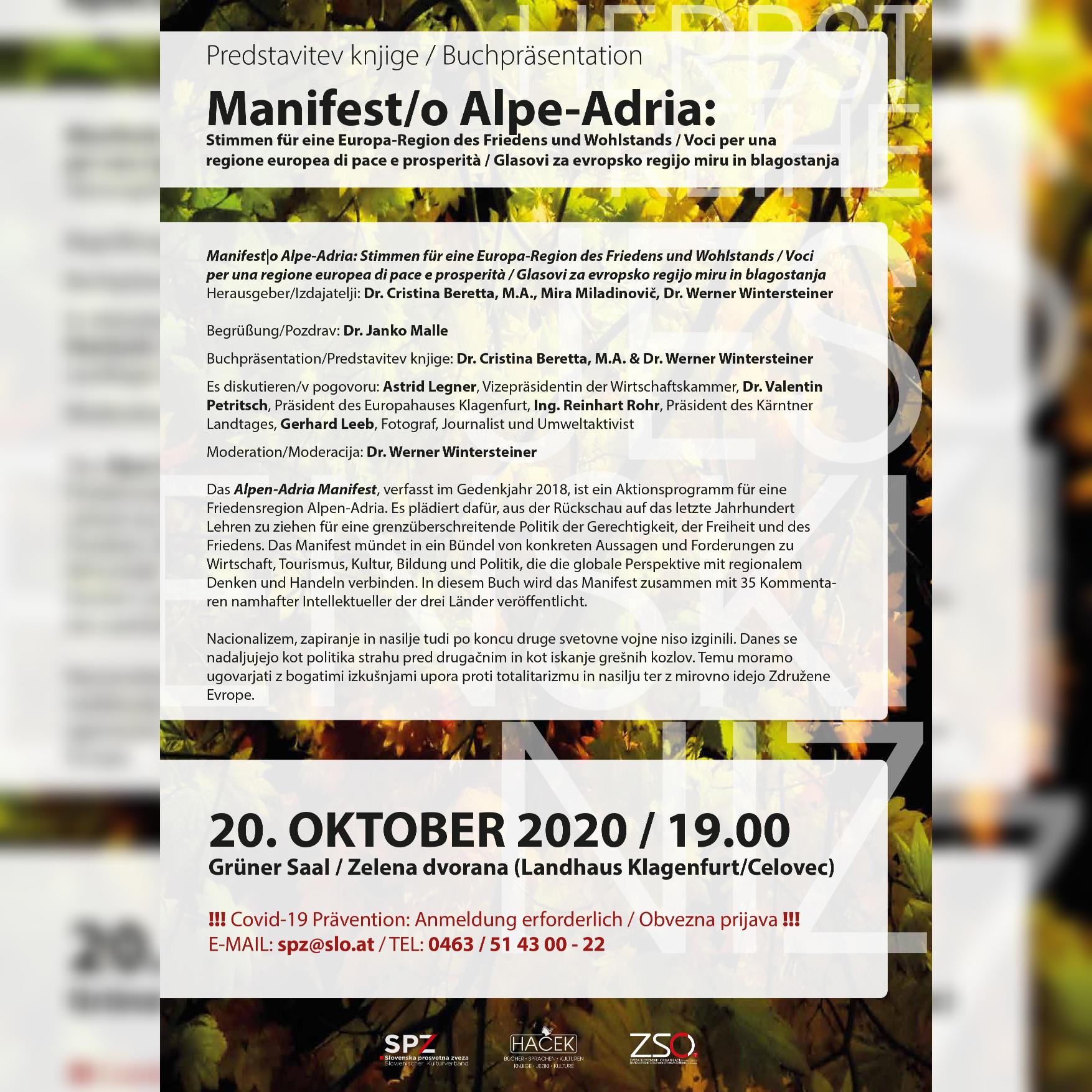 Manifest/o Alpe-Adria