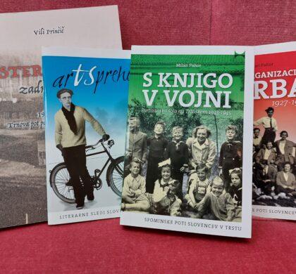 Nove knjige iz Trsta